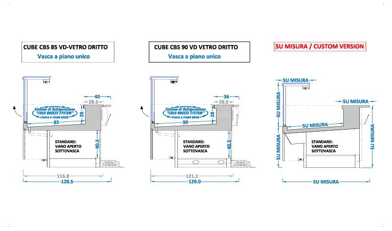 banchi-frigo-macelleria-statici-vetro-dritto-sezioni-CUBE-CBS-SOFT-MEAT
