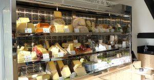 vitrine refrigerée fromagerie