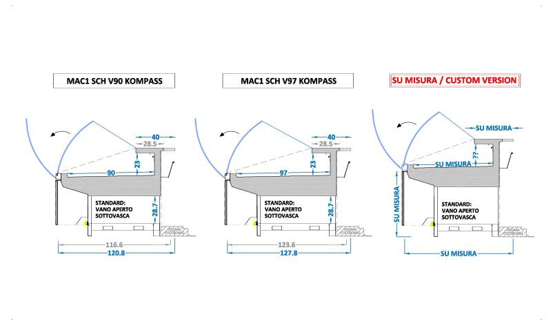 banchi-frigo-gastronomia-vetri-curvi-ribaltabili-MAC1-SCH-KOMPASS-sezioni